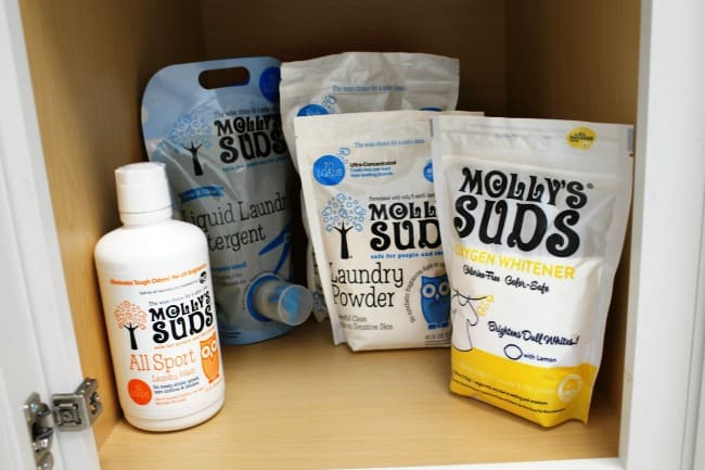 Cabinet of Laundry Suds products