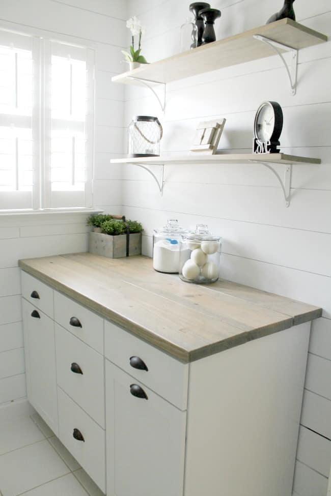 YMD finished Laundry room makeover