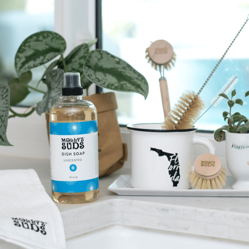 Molly's Suds Natural Dish Soap