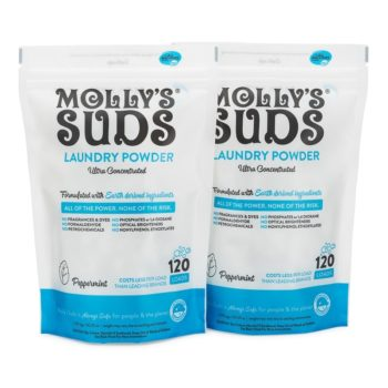 Molly's Suds 120 Load Original Laundry Powder 2 Pack