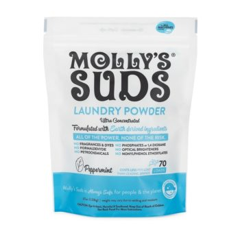 Molly's Suds Laundry Powder Peppermint 70 Load