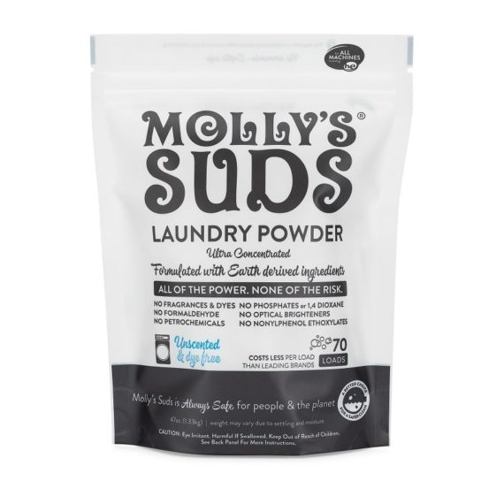 Unscented Laundry Powder 70 Load Front