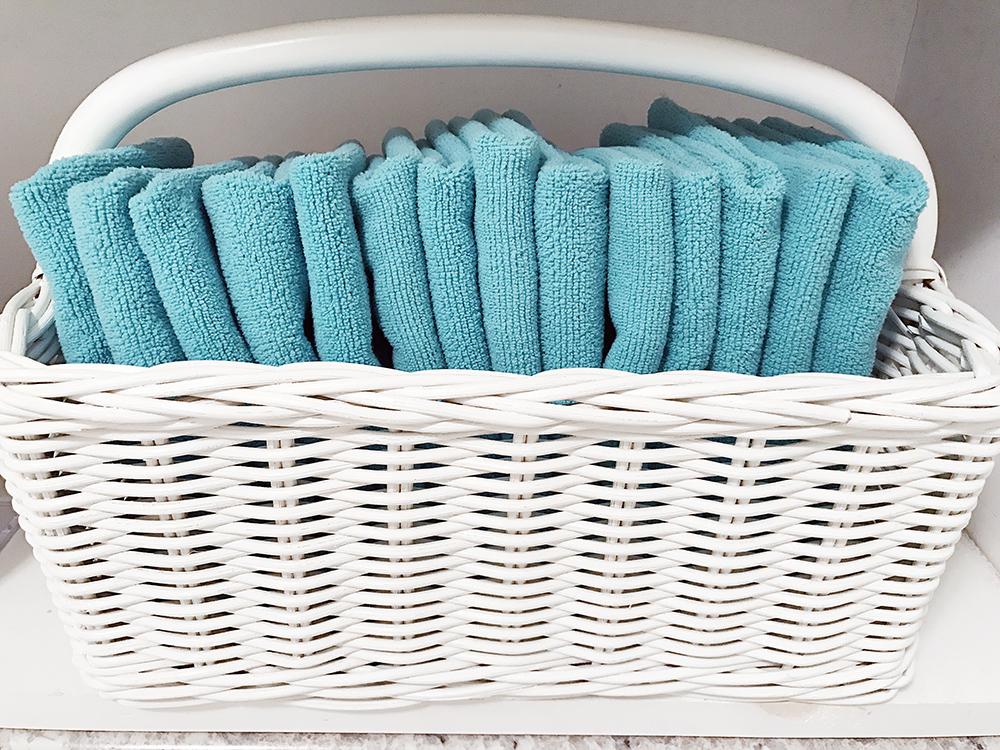 Laundry Basket Decor