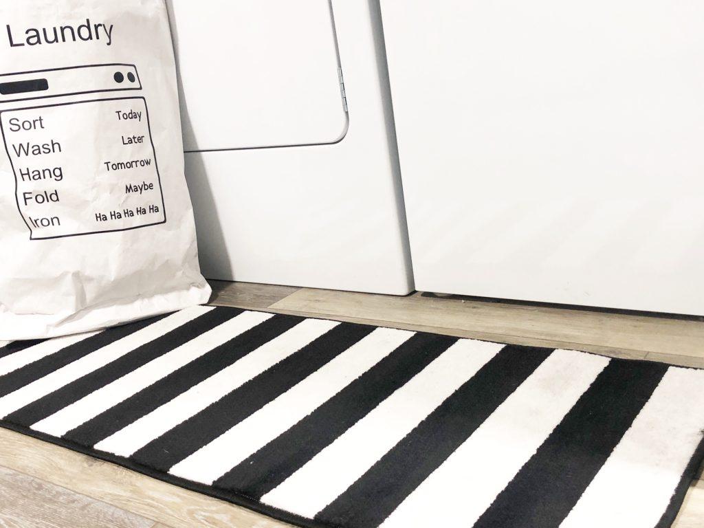 Laundry Room Rug Decor