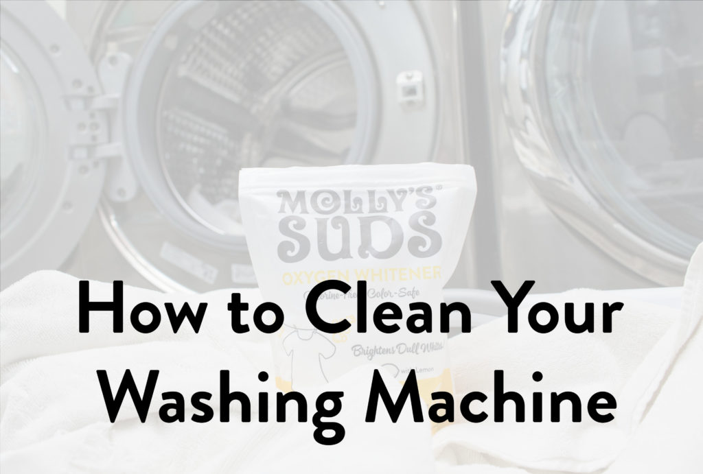 How to Clean Your Washing Machine Naturally