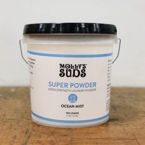 Ocean Mist Super Powder Gallon Refills by Molly's Suds