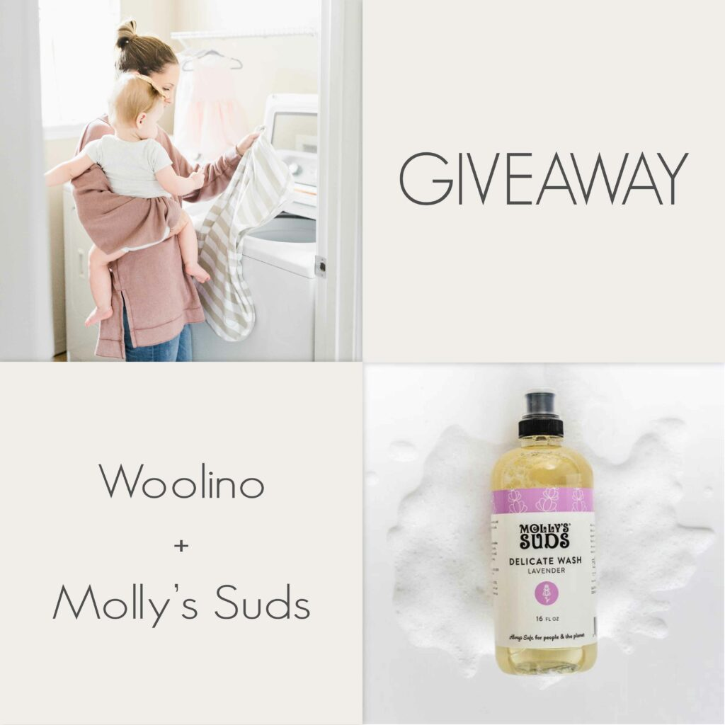 Molly's Suds & Woolino Giveaway